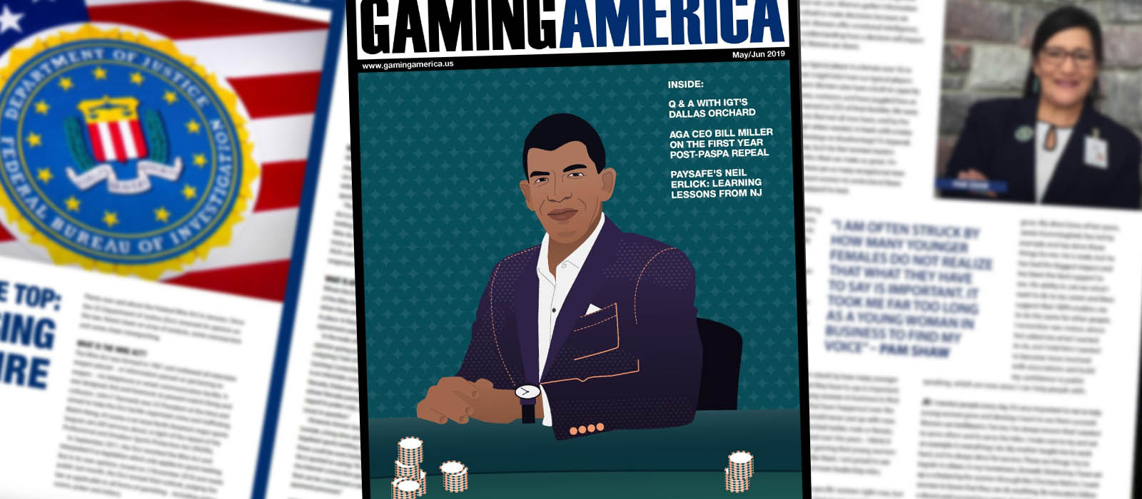 Gaming America may-June 2019